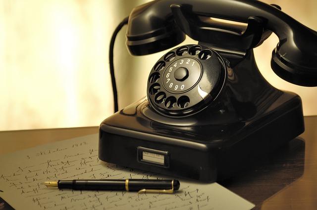 電話機の画像
